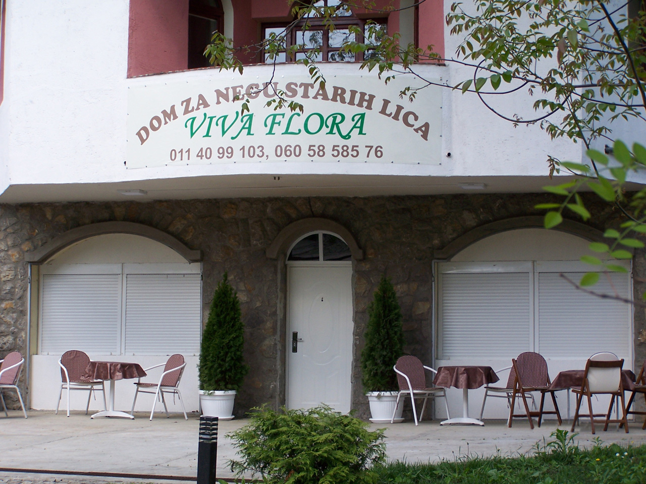 VIVA FLORA HOME FOR OLD Homes and care for the elderly Beograd