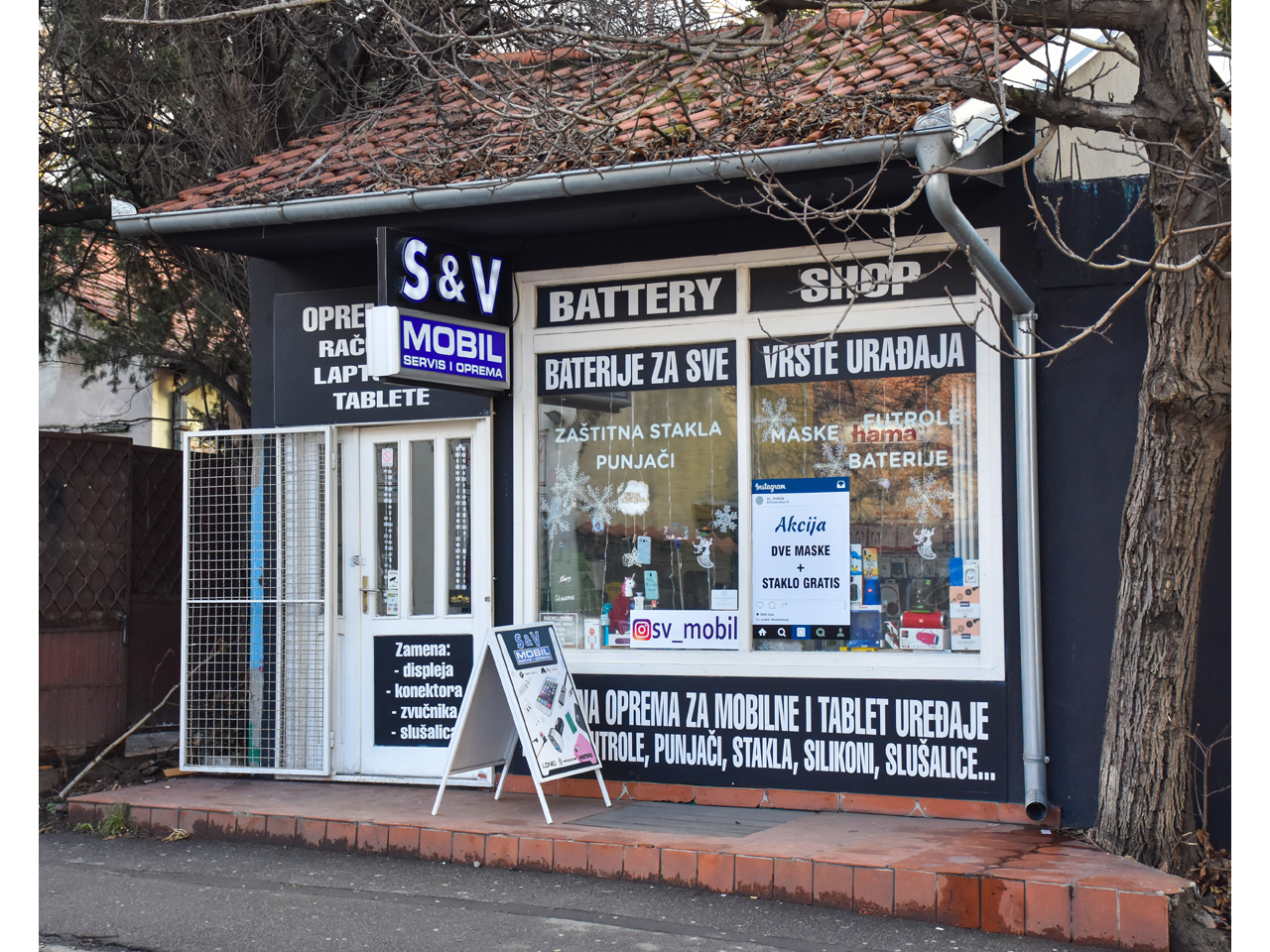 MOBIL SHOP S&V Mobile phones service Beograd