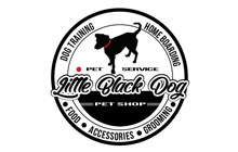 PET SERVICE LITTLE BLACK DOG