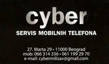 CYBER SERVICE AND MOBILE PHONES AND EQUIPMENT SALE