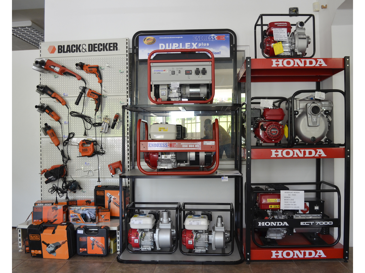 MINI MOTOR - SERVICE AND SALES CENTER Tools and machines Beograd