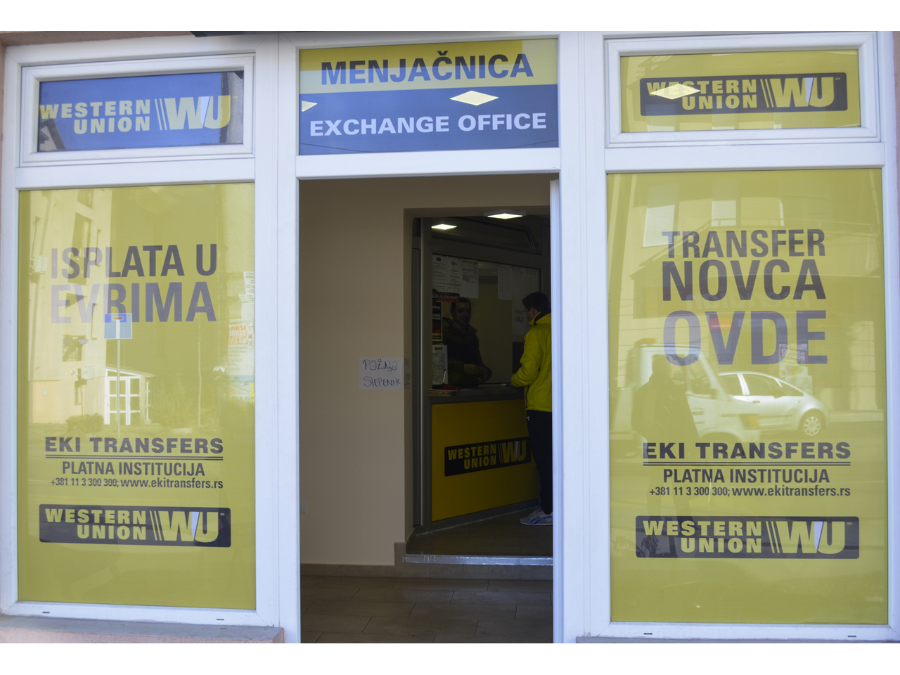 CHANGE EXCLUSIVE EXCHANGE OFFICE Exchange office Beograd