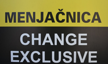 CHANGE EXCLUSIVE EXCHANGE OFFICE