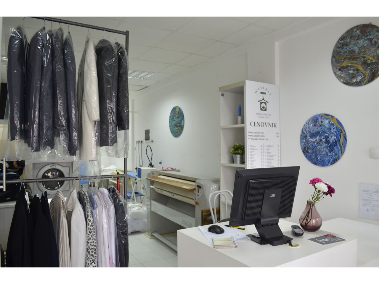 "LAUNDRY WASHING AND DRY CLEANING - ""WESERAJ"" Dry-cleaning Beograd"