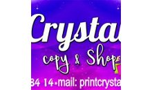 CRYSTAL COPY & SHOP
