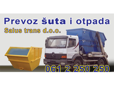 SALUS TRANS Shipping agencies, road shipping Beograd