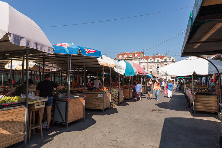 The first Belgrade marketplaces