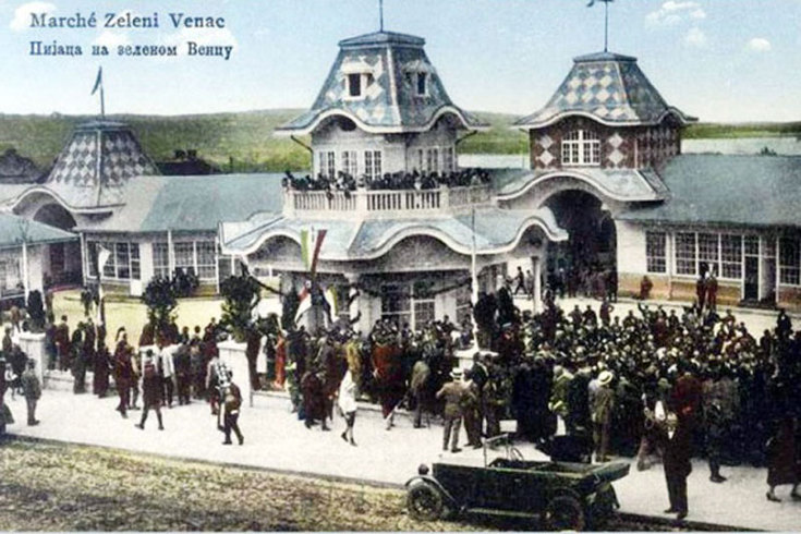 "When ""Zeleni venac"" was the lake of Belgrade"