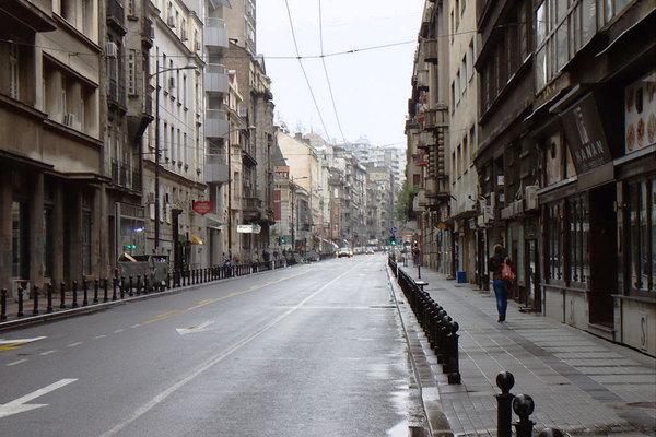 Od Belog Goluba Do Svete Gore Kratka Istorija Svetogorske Ulice