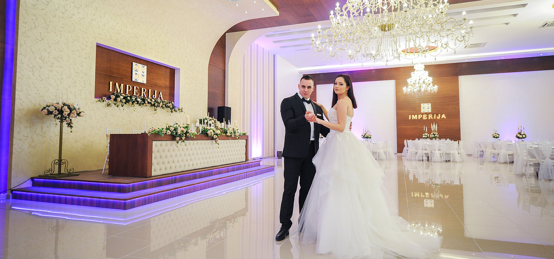 Imperija M: the weddings and celebrations hall of your dreams