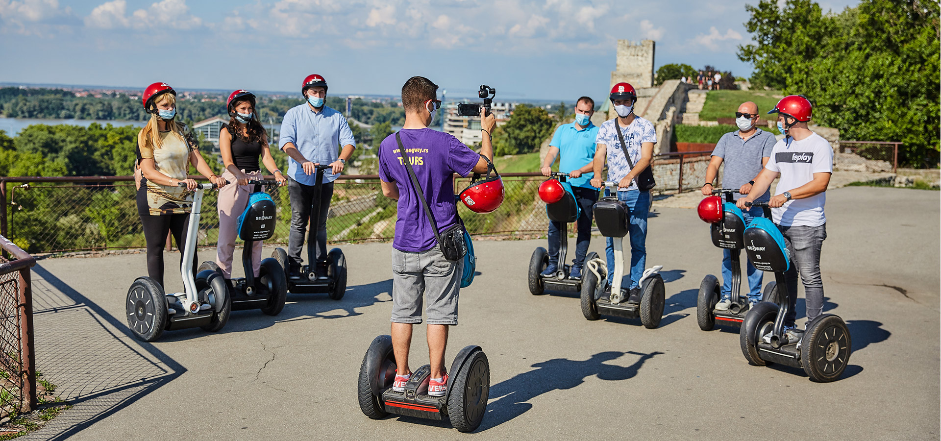 Segway Belgrade: Get to know Belgrade and experience an adventure to remember