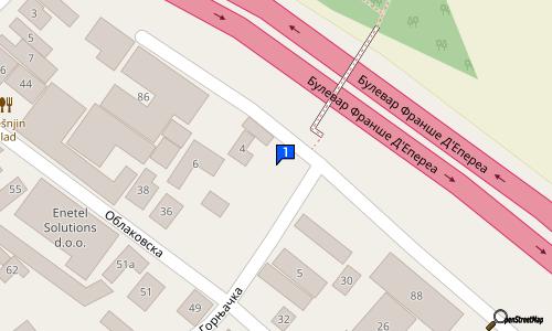 oblakovska ulica beograd mapa RESTORAN TREŠNJIN HLAD | | Restorani | Oblakovska 44, Autokomanda  oblakovska ulica beograd mapa