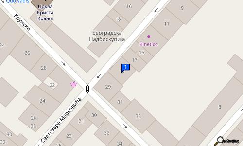 ulica svetozara markovica beograd mapa ALO ALO | italijanska kuhinja centar beograd | Picerije  ulica svetozara markovica beograd mapa