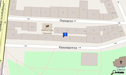 krusedolska ulica beograd mapa CAFFE CLINIQUE DU PARC | | Kafe barovi i klubovi | Krušedolska 3  krusedolska ulica beograd mapa