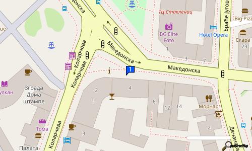 mapa beograda makedonska ulica BAR WURST PLATZ | Beer shops | 4/2 Makedonska st., Centar Belgrade  mapa beograda makedonska ulica