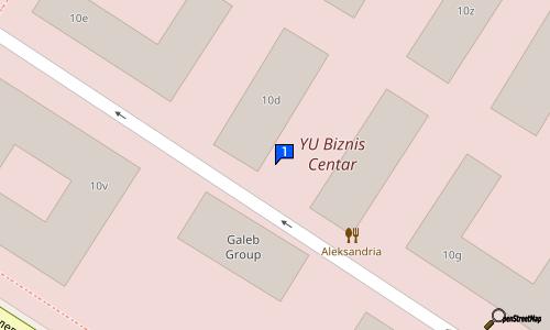 bulevar mihajla pupina novi beograd mapa LIPA   PROJEKT FOTOKOPIRNICA I PROJEKTNI BIRO | fotokopirnica YBC  bulevar mihajla pupina novi beograd mapa