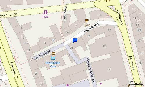 nusiceva ulica beograd mapa BRKATI PAB | pub Stari grad, pivske ćuftice i tortilje Beograd  nusiceva ulica beograd mapa